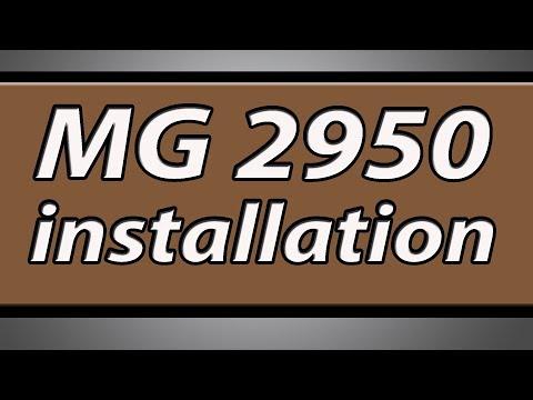 Canon Pixma MG2950 printer installation
