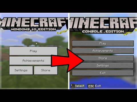 HOW TO TURN MCPE/WIN 10 INTO MINECRAFT CONSOLE EDITION (Pocket Edition Addon)