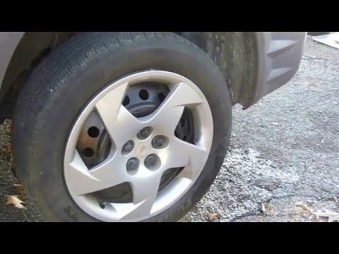 Flush Your Power Steering Fluid---Pontiac Vibe