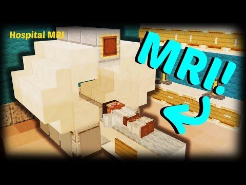Minecraft - How To Make A Hospital MRI Scanner