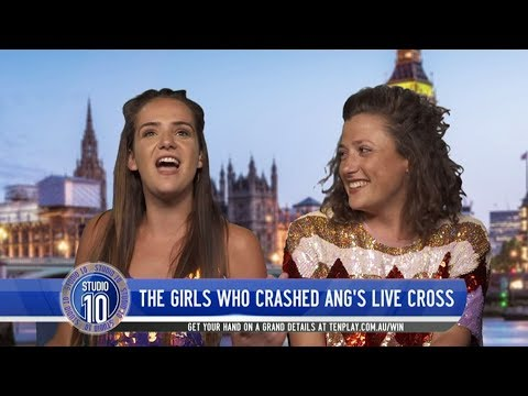 Meet The Brits Who Crashed Our Royal Wedding Cross | Studio 10