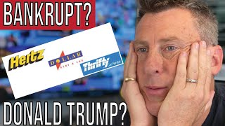 Hertz Files For Bankruptcy 11- Depression? - Recession? - Dominoes Falling or Smart Restructuring