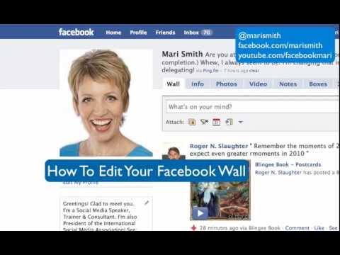 How To Edit Your Facebook Wall