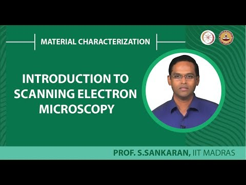 Introduction to scanning electron Microscopy