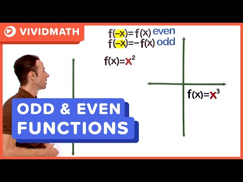Odd And Even Functions 01
