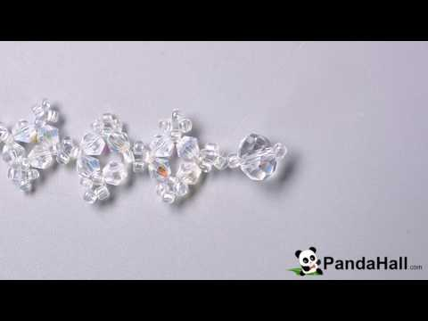 111   Detailed Tutorial on How to Make a Bling Beaded Slave Bracelet with Glass Beads and Seed B