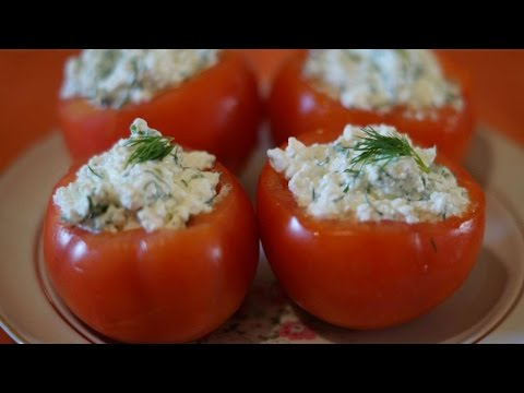 How To Make Tomatoes Stuffed With Cottage Cheese - DIY Food & Drinks Tutorial - Guidecentral