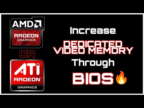 How To Increase DEDICATED VIDEO MEMORY Of AMD or ATI Radeon Graphics On Any PC / LAPTOP
