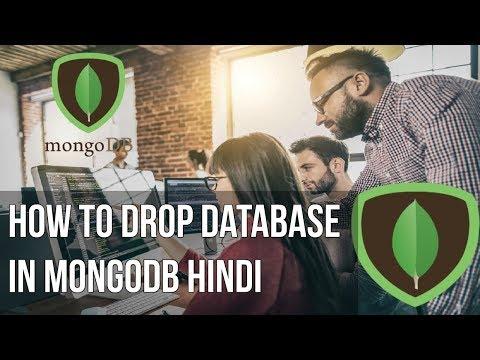 Learn mongodb in Hindi | How to drop database in Mongodb Hindi