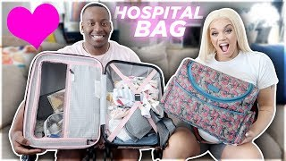 WHAT'S INSIDE THE PRINCE FAMILY HOSPITAL BAG FOR GIVING BIRTH?