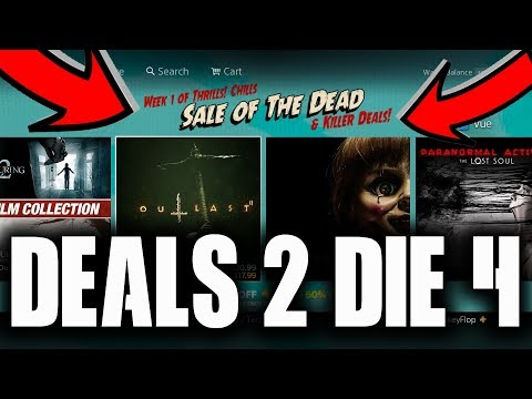 PS4 GREAT DEALS WITH THE Sale of The DEAD WEEK 1 PSN