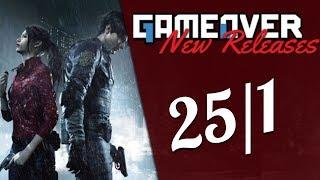 Νέες κυκλοφορίες παιχνιδιών | 25 Ιανουαρίου 2019
