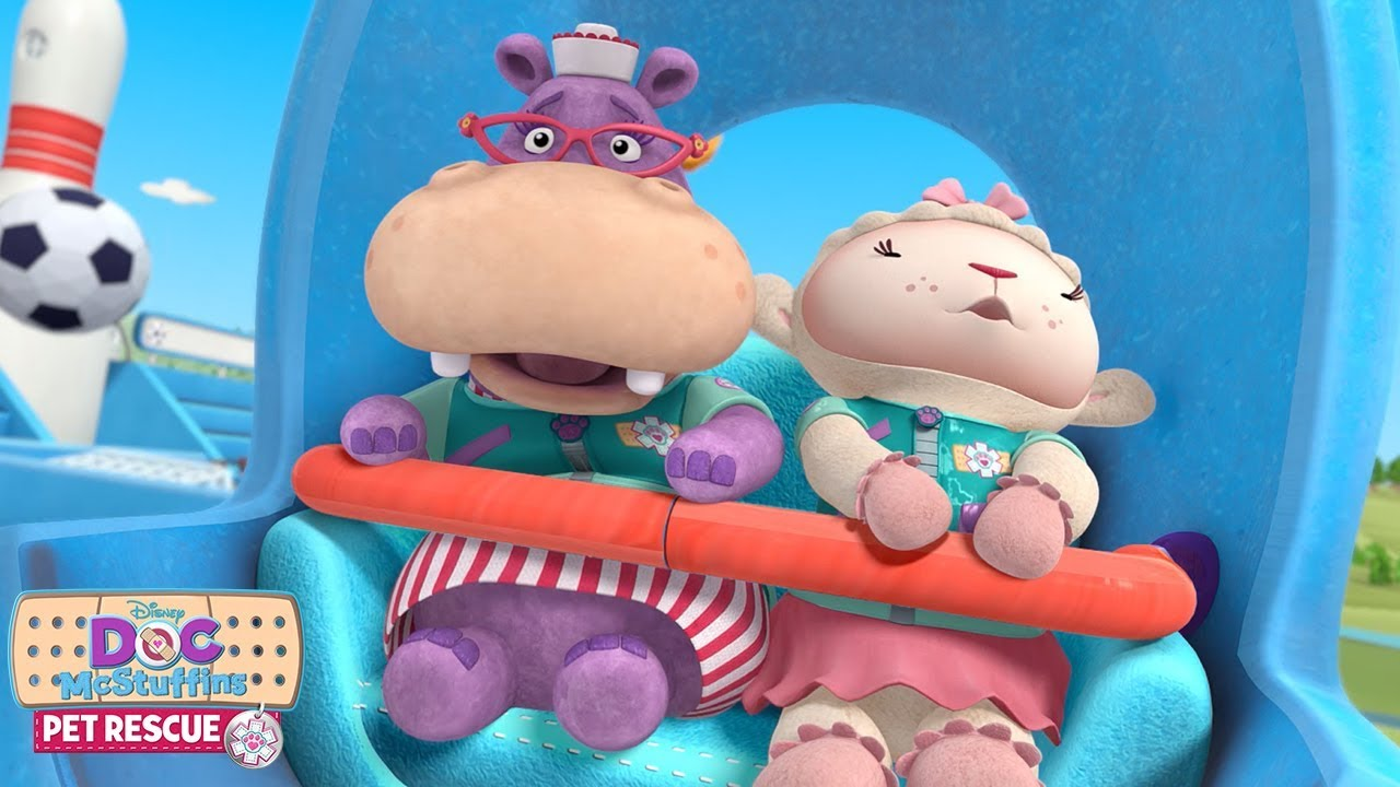 Kitty Go Round | Doc McStuffins Pet Rescue | Disney Junior