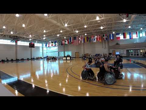 Detroit Wheelchair Rugby Club  versus Tennessee Period 1-2 (2018 03 18)