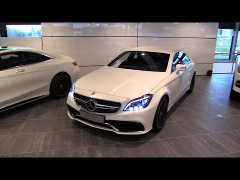 Mercedes-Benz CLS63 S AMG 2017 Start Up, Exhaust, In Depth Review Interior Exterior