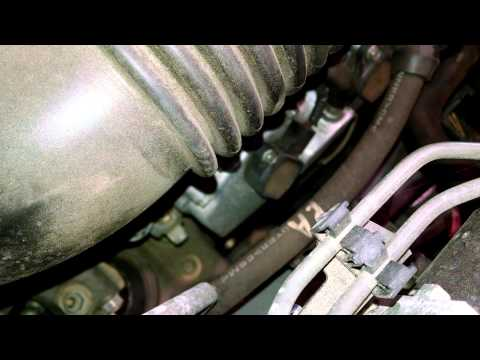 Spark plug replacement Subaru Outback 2011 Install Remove Replace How to