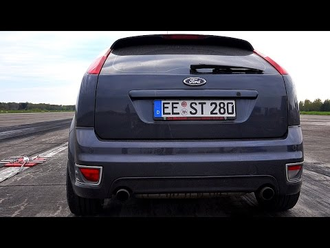 Focus St 0 60 >> Ford Focus St Mk2 Acceleration And Top Speed 60 200 100 200