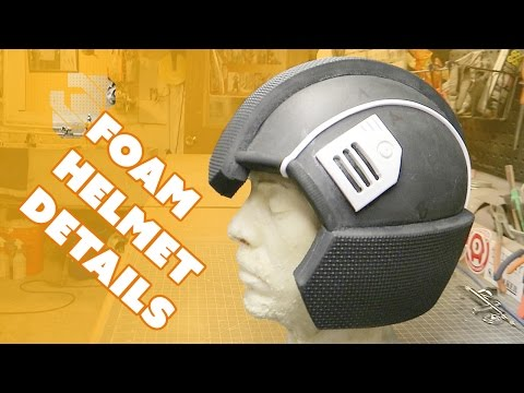 Adding Details to the Basic Foam Helmet