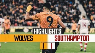 Jimenez equalises but has two disallowed!   Wolves 1-1 Southampton   Highlights