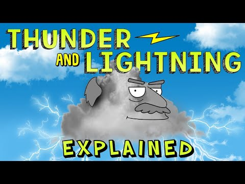 Thunder and Lightning Explained for Kids!