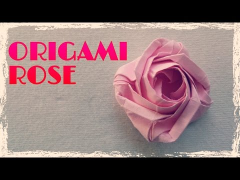 Origami Easy - Origami Rose Instructions