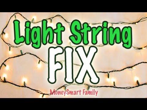 Christmas Light Fixer   Light String Hack   Fix or Repair Christmas Light Dead Bulbs/Light KeeperPro