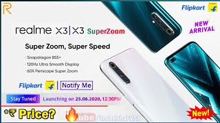 Realme X3 | X3 SuperZoom Launch on 25 June | Price, Specifications, 64MP Camera | Realme X3 Price