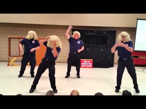 CRFD Fire Prevention Dance 2015