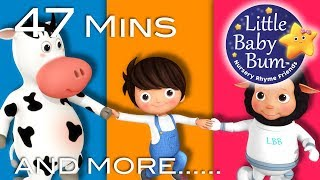 Skip To My Lou | Plus Lots More Nursery Rhymes | 47 Minutes Compilation from LittleBabyBum!
