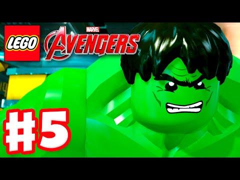 LEGO Marvel's Avengers - Gameplay Walkthrough Part 5 - Hulk! (PC)