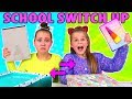Download Video Download BACK TO SCHOOL SWITCH UP CHALLENGE!! 3GP MP4 FLV