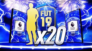 HUGE TOTS PACKED!!! 20x EPL UPGRADE PACKS!!! FIFA 19 Ultimate Team