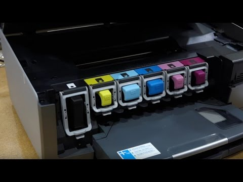 HP Photosmart 3210 Printer Head Cleaning