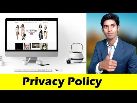 Why you need to create privacy policy page for GDPR of your blog or websites