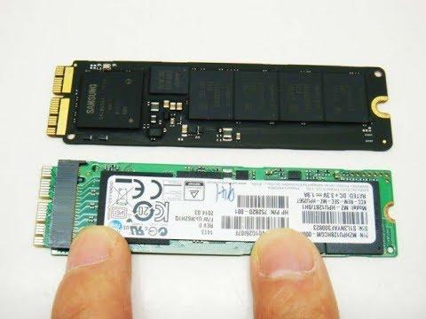 Apple Macbook PRO retina a1502 2013-14 SSD adapter PCIe M.2 update