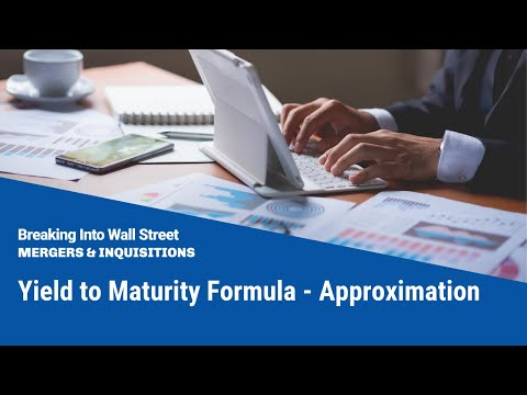 Yield to Maturity Formula - Approximation