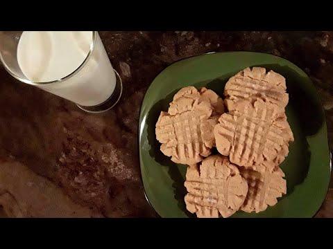 Tina's Peanut Butter Cookies Cooking Tutorial 10/9/2017