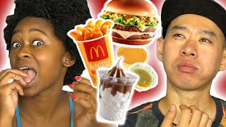 Americans Try Mexican McDonald