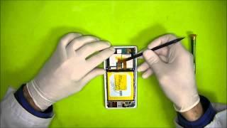 Como cambiar la bateria en un Sony Xperia Z2