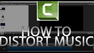How to distort music in Camtasia Studio 8