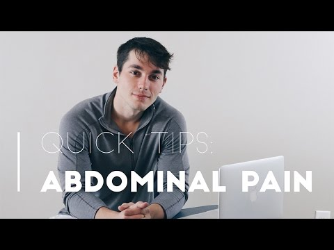 Quick Tips for Nurses about Abdominal Pain!