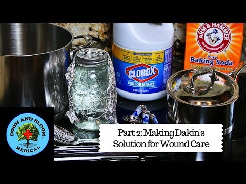 How to Make Dakin's Solution for Wound Care: Part 2
