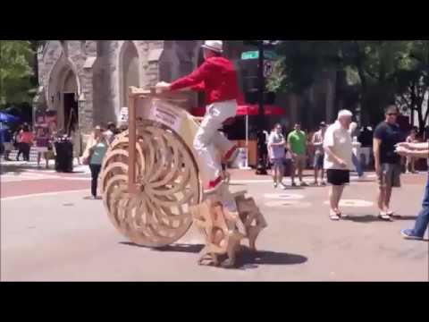 Funny and weird wooden bikes
