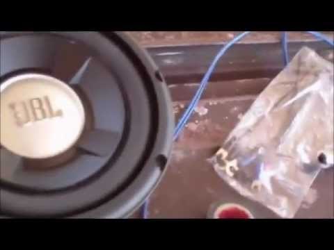 Installing the Subwoofer and Amp in the 1977 El Camino part2
