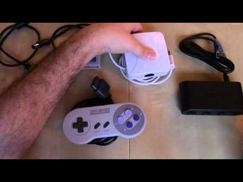 Using the Wii U Gamecube Adaptor with Wii Virtual Console (an exercise in futility)