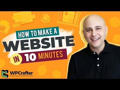 How To Make A Website In 10 Minutes - Step By Step (EASY)