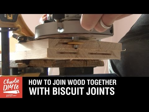 How to Join Two Pieces of Wood Together with Biscuit Joints