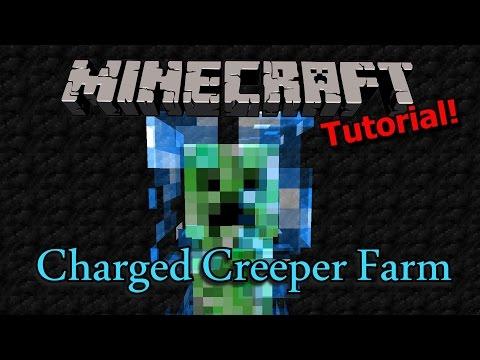 [Tutorial] Minecraft Charged Creeper Farm