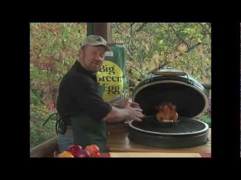 O'Neill Outside - Beer Can Chicken on the Big Green Egg