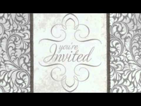 Wedding Invitation Animated/Video example